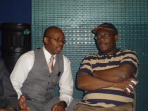 Desmond Dawuni and Kwaku Boafo Agyeman