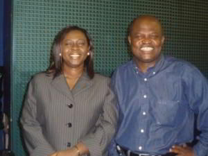 Jennifer Opoku-Asare and Ramseyer Awuku.