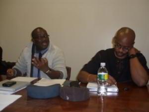 Kwaku Boafo Agyeman(President) and Desmond Dawuni(Communications Director)